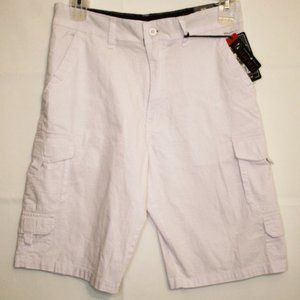 Beverly Hill Polo Club White Stretch Short size 30